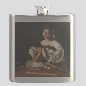 Lute Player Flask