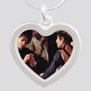 The Cardsharps Silver Heart Necklace