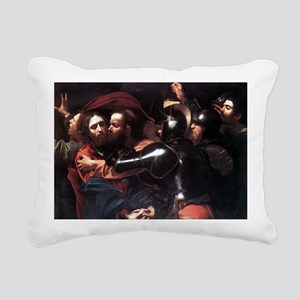 Taking of Christ Rectangular Canvas Pillow