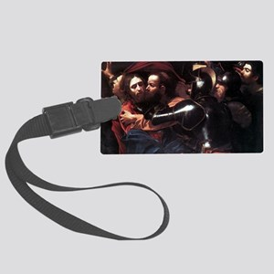 Taking of Christ Large Luggage Tag