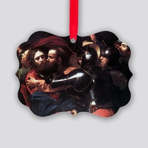 Taking of Christ Picture Ornament