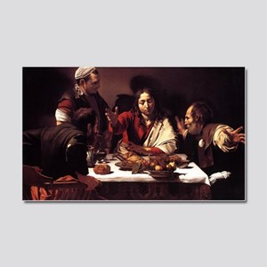 Supper at Emmaus Car Magnet 20 x 12
