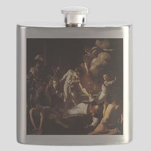 The Martyrdom of St Matthew Flask