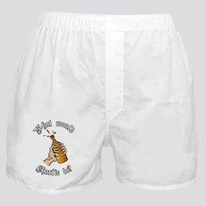 what would charlie do_tb Boxer Shorts