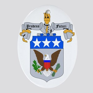 DUI-ARMY WAR COLLEGE Oval Ornament