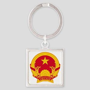 Vietnam_COA Square Keychain
