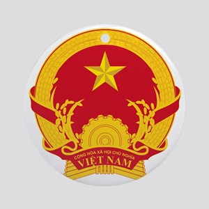 Vietnam_COA Round Ornament