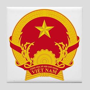 Vietnam_COA Tile Coaster