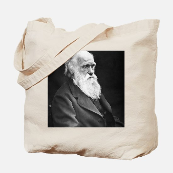 Darwin_mousematpng Tote Bag