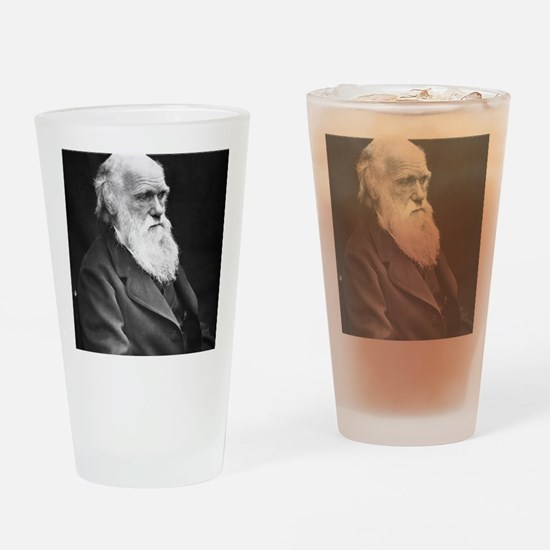 Darwin_mousematpng Drinking Glass