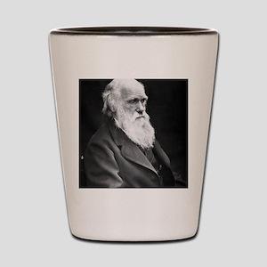 Darwin_mousemat Shot Glass