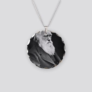 Darwin_mousemat Necklace Circle Charm