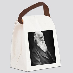 Darwin_mousemat Canvas Lunch Bag