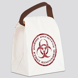 Zombie responder Canvas Lunch Bag