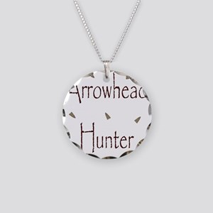 arrowheadhunter Necklace Circle Charm