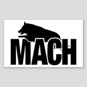 MachStickerBelgianTerv Sticker (Rectangle)