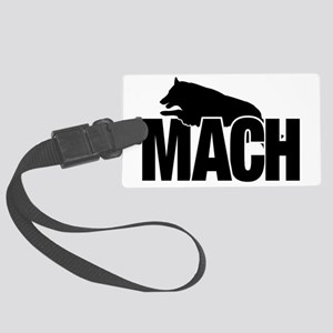 MachStickerBelgianTerv Large Luggage Tag
