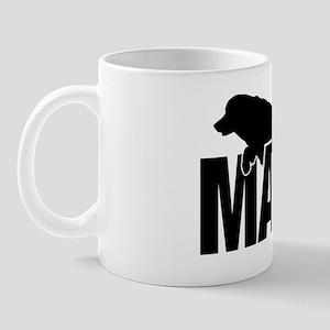 MachStickerGolden Mug