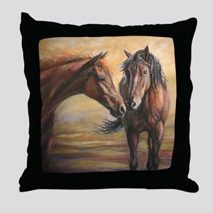 Nifty Dream painting Throw Pillow