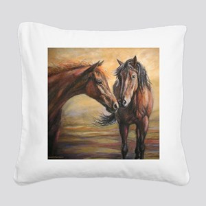 Nifty Dream painting Square Canvas Pillow