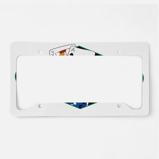 casinocollage10 License Plate Holder