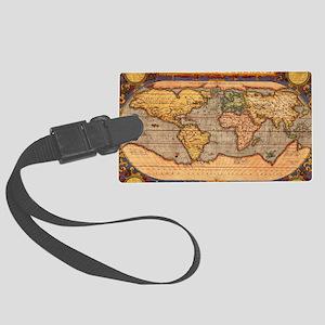 magellan_map Large Luggage Tag
