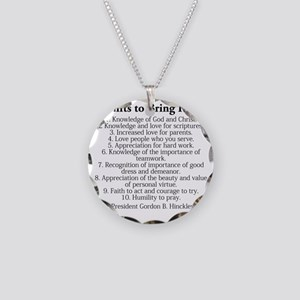 10 Necklace Circle Charm