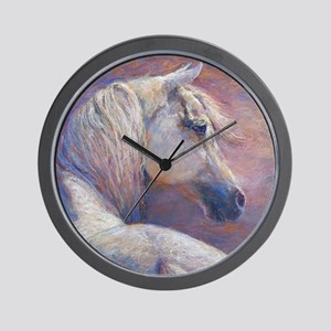 Devins Dream painting by Janet Ferraro. Wall Clock