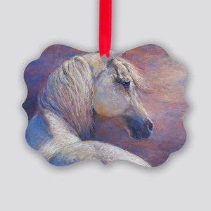 Devins Dream painting by Janet Fe Picture Ornament