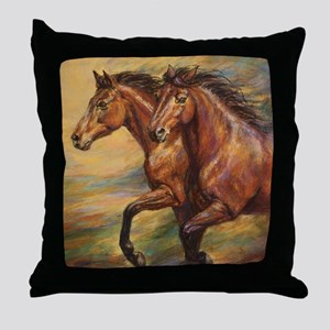 Mystic Melody Throw Pillow