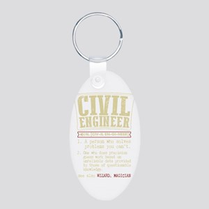 Civil Engineer Funny Dictionary Term Keychains