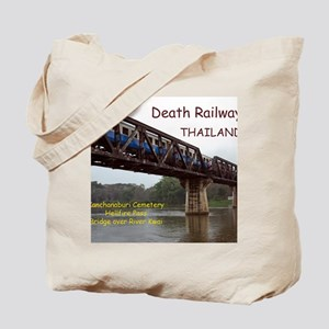 CAL1_Death_Railroad_120_COVER2 copy Tote Bag