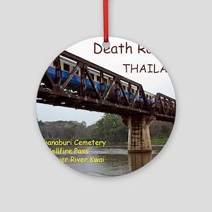 CAL1_Death_Railroad_120_COVER2 copy Round Ornament