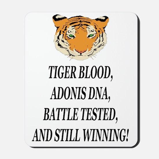 tiger blood adonis dna battle testeed st Mousepad
