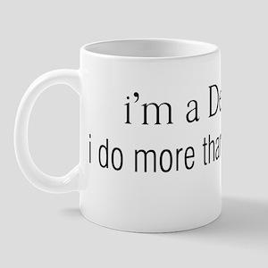 im a designer, I do more than pick colo Mug