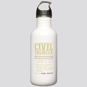 Civil Engineer Diction Stainless Water Bottle 1.0L
