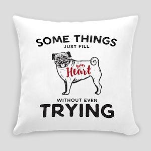 Pugs Everyday Pillow
