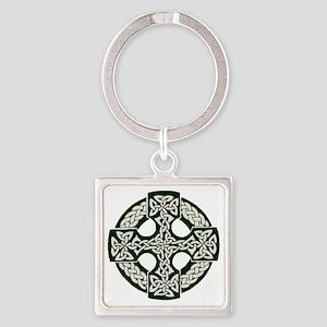 celticcross Square Keychain