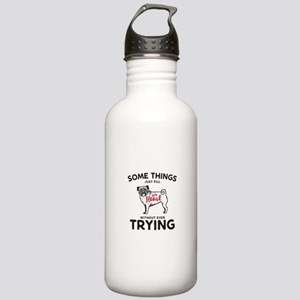 Pugs Stainless Water Bottle 1.0L
