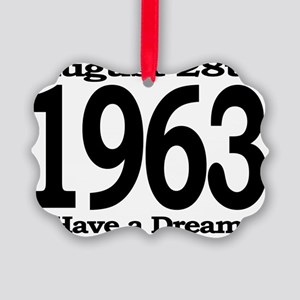 I Have a Dream Speech August 28th Picture Ornament