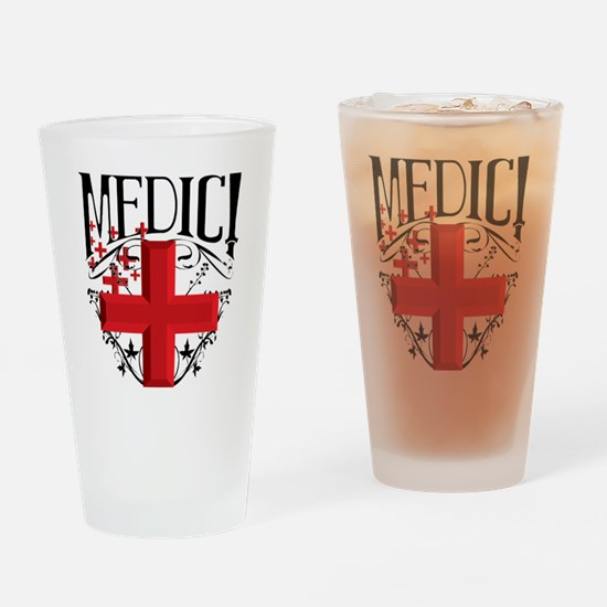 MCEtf2MEDIC Drinking Glass