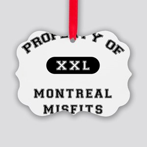property_of_MontrealMisfits Picture Ornament
