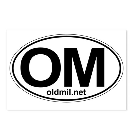OM logo Postcards (Package of 8)