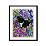 Freckles in Butterflies II Framed Panel Print