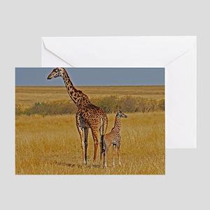 01 2006-0825 (450) Kenya - Masai Mar Greeting Card