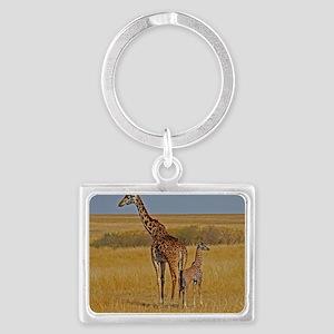 01 2006-0825 (450) Kenya - Masa Landscape Keychain