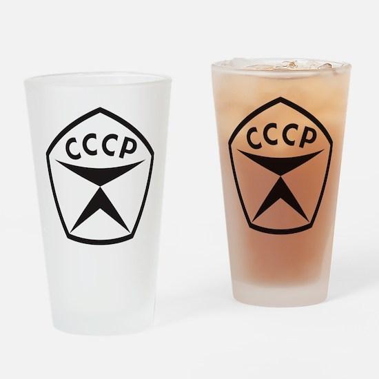 zk_black Drinking Glass