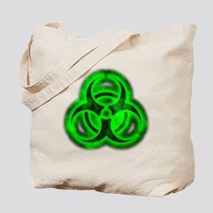 glowingBiohazardGreenTCrop Tote Bag