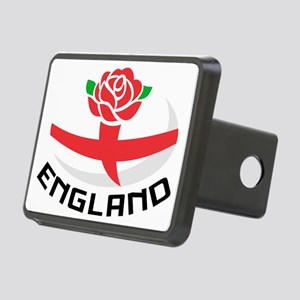 Rugby England English Rose Rectangular Hitch Cover