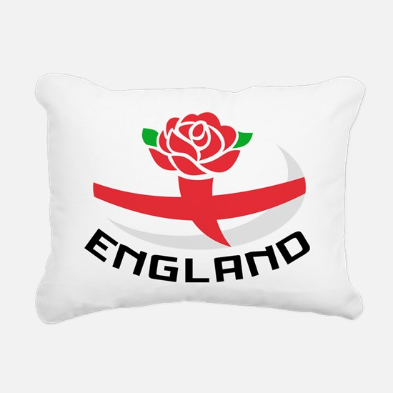 Rugby England English Ro Rectangular Canvas Pillow